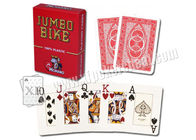 Custom Magic Single Deck Plastic Modiano Bike Trophy Playing Cards