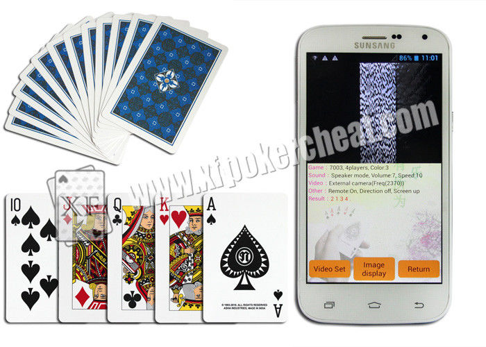 Iraq NAP Side Barcode Marked Poker Cards For Poker Predictor Poker Scanner Gambling Props Apply To Casino Game
