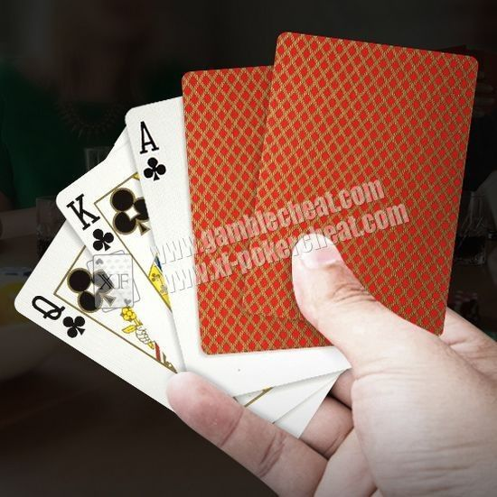Golden Bee PLC066 Paper Invisible Playing Cards For Baccarat / Blackjack