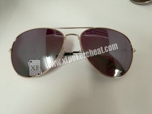 Fashional Oval Shape UV Sunglasses Poker Reader For UV Marked Playing Cards
